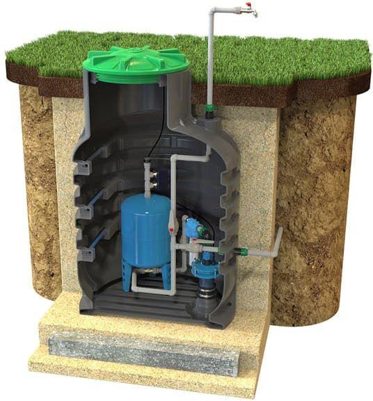 Использование, виды и устройство кессона для скважины